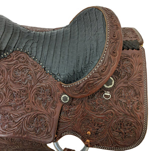 Picture of seat and back of C&L Low Ride Calf Roper CLS00009