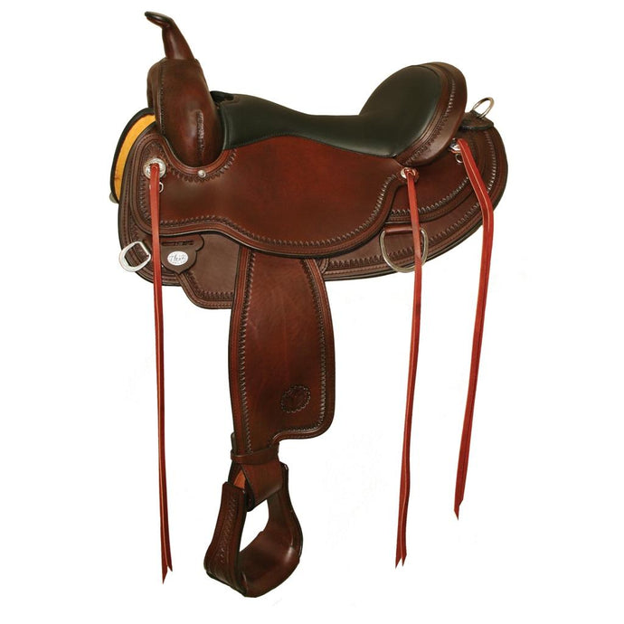Circle Y Omaha FlexII Trail Saddle 1554 Walnut