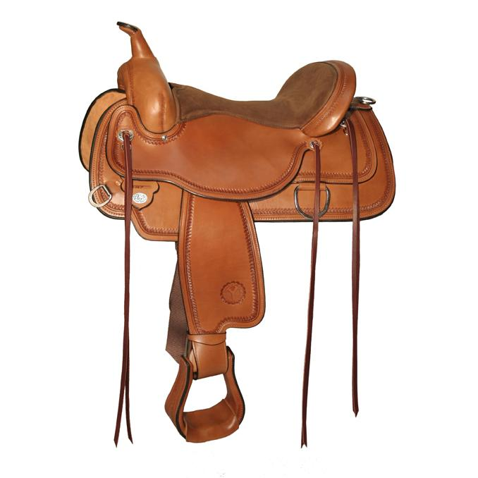 Circle Y Topeka FlexII Trail Saddle 1651 Regular Oil
