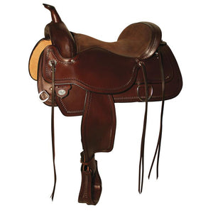 Circle Y Topeka FlexII Trail Saddle 1651 Walnut