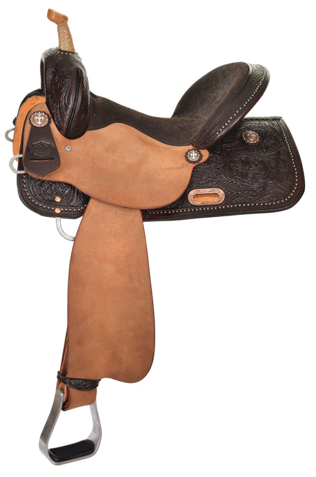 Side Picture of High Horse Eden Barrel Saddle 6225