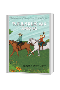 Wrangler Rein Rides Again Downloadable Coloring Book