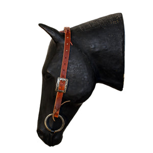 Picture of C&L Spotted Feedlot One Ear Headstall Square Buckle HS000001