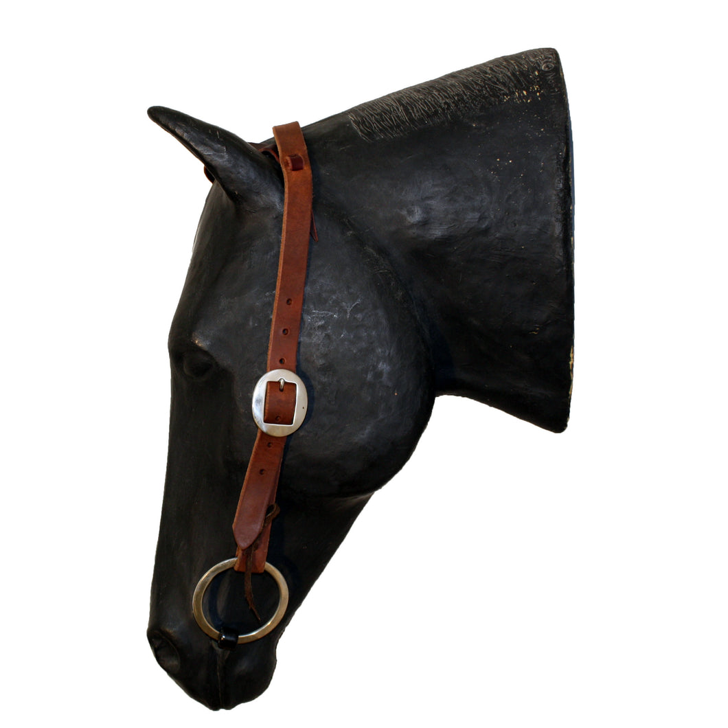 Picture of C&L Feedlot One Ear Headstall Oval Buckle HS000002