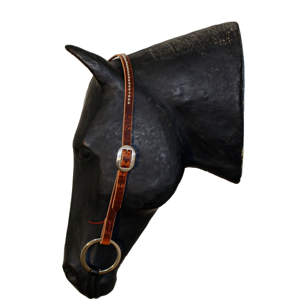 Picture of C&L Spotted Cowboy Slit Ear Headstall HS000004