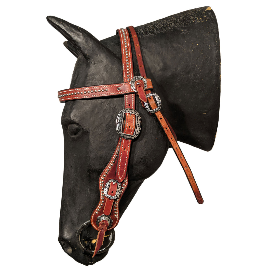 Picture of C&L Ramrod Browband Headstall Oval Buckle HS000006