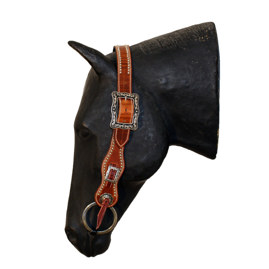 Picture of C&L Spotted Buster Belt Style Headstall Square Buckle HS000011