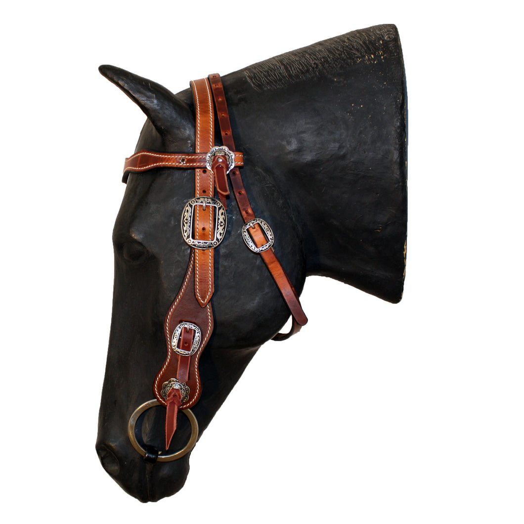Picture of C&L Puncher Browband Headstall HS000012