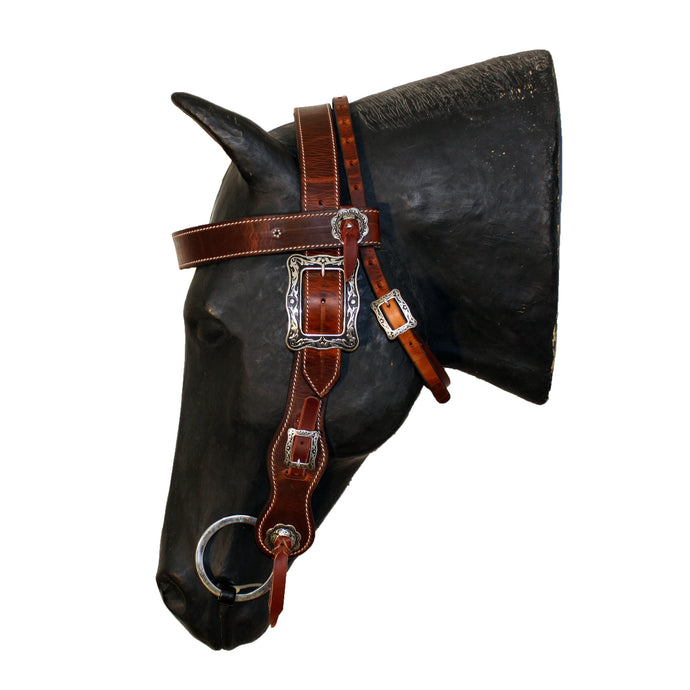 Picture of C&L Competition Browband Belt Style Headstall Square Buckle HS000015