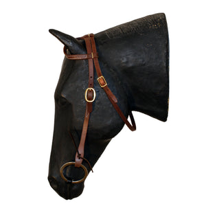 Picture of C&L Classic One Ear With Throat Latch Headstall HS000022