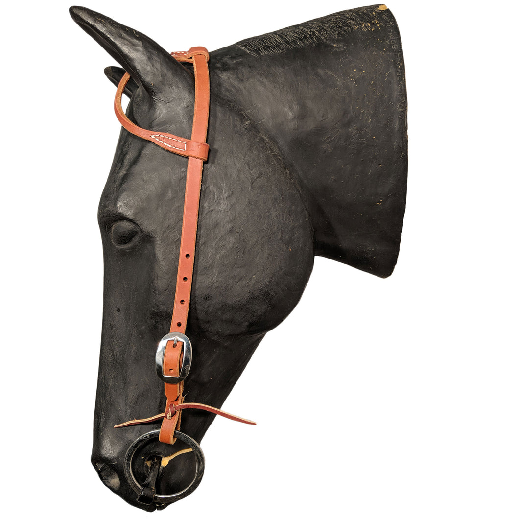 Picture of C&L Classic Stainless One Ear Headstall HS000026