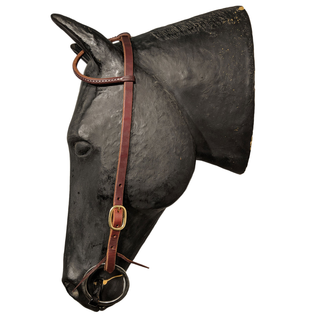 Picture of C&L Classic Brass One Ear Headstall HS000031