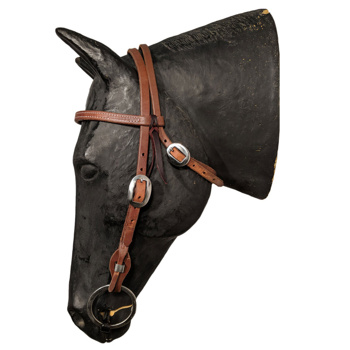 Picture of C&L Classic Stainless Quick Change Browband Headstall HS000033