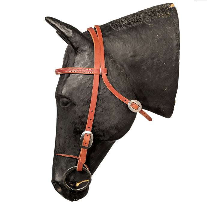 Picture of C&L Classic Stainless Browband Headstall HS000036