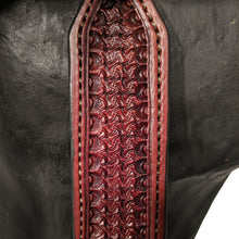 Load image into Gallery viewer, Picture of C&L DW Fast Time Headstall with Square Jeremiah Watt Buckles HS000037
