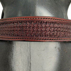 Picture of C&L DW Fast Time Headstall with Square Jeremiah Watt Buckles HS000037