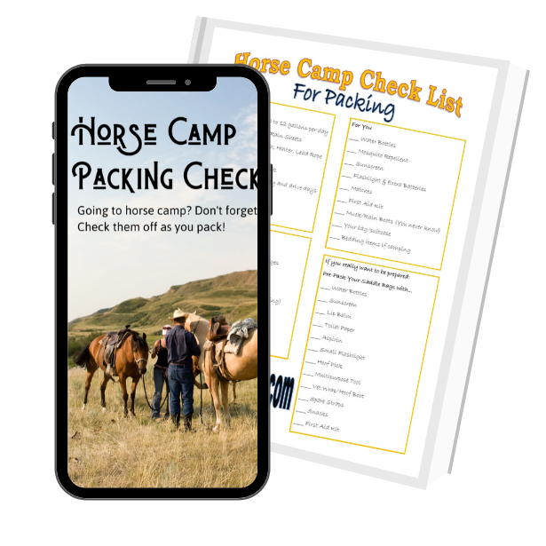 Horse Camp Packing Checklist