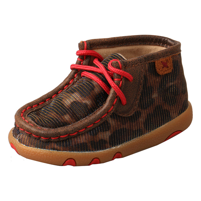 Picture of front outside of Infant's Twisted X Chukka Driving Moc ICA0014