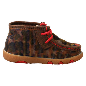 Picture of heel of Infant's Twisted X Chukka Driving Moc ICA0014