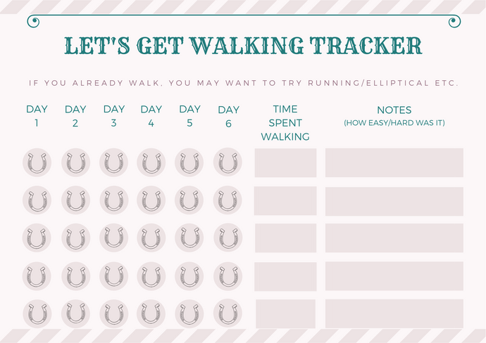 Let's Get Walking Tracker