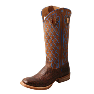 Picture of front outside of Men's Twisted X Buckaroo Boot MBK0032