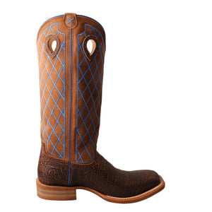 Picture of heel of Men's Twisted X Buckaroo Boot MBK0032