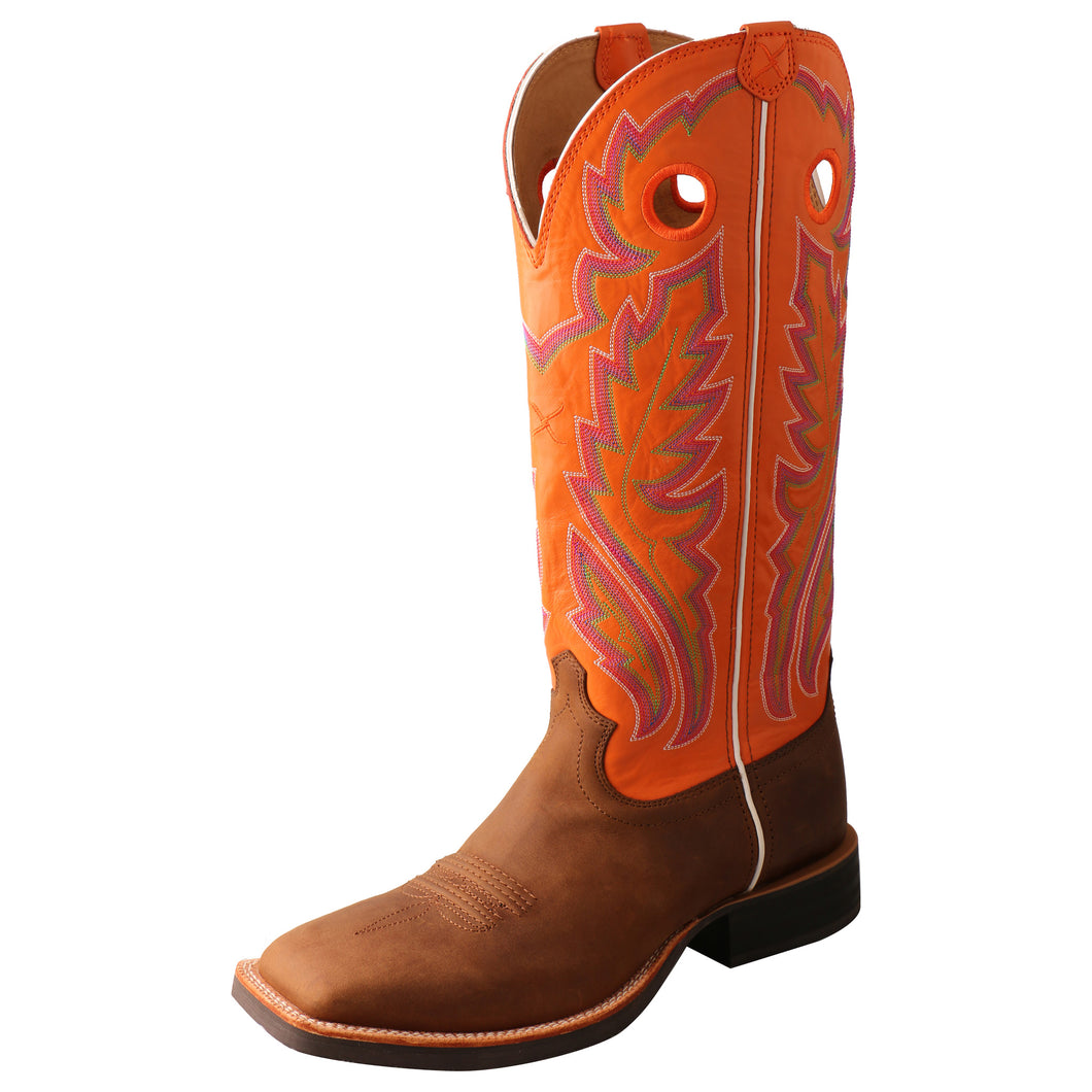 Picture of front outside of Men's Twisted X Buckaroo Boot MBK0033