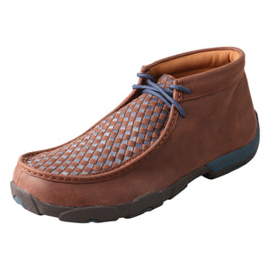 Picture of front outside of Men's Twisted X Chukka Driving Moc MDM0030