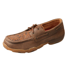 Load image into Gallery viewer, Picture of front outside of Men's Twisted X Boat Shoe Driving Moc MDM0066