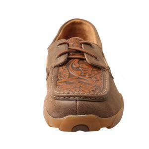 Picture of outside of Men's Twisted X Boat Shoe Driving Moc MDM0066