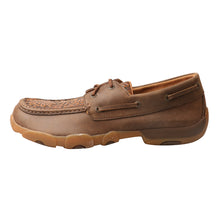 Load image into Gallery viewer, Picture of front of Men's Twisted X Boat Shoe Driving Moc MDM0066