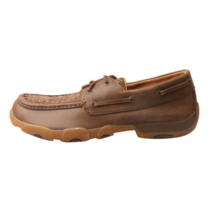 Picture of front of Men's Twisted X Boat Shoe Driving Moc MDM0066
