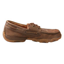 Load image into Gallery viewer, Picture of heel of Men's Twisted X Boat Shoe Driving Moc MDM0066