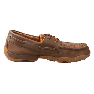 Picture of heel of Men's Twisted X Boat Shoe Driving Moc MDM0066
