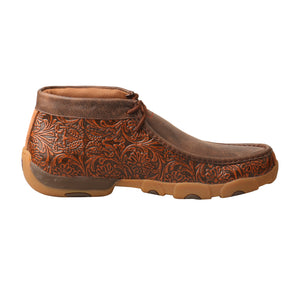 Picture of heel of Men's Twisted X Chukka Driving Moc MDM0071