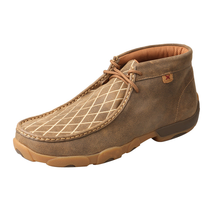 Picture of front outside of Men's Twisted X Chukka Driving Moc MDM0076