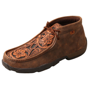 Picture of front outside of Men's Twisted X Chukka Driving Moc MDM0083