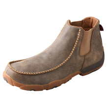 "Load image into Gallery viewer, Picture of front outside of Men's Twisted X 4"" Chelsea Driving Moc MDMG002"