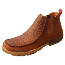 "Load image into Gallery viewer, Picture of front outside of Men's Twisted X 4"" Chelsea Driving Moc MDMG004"