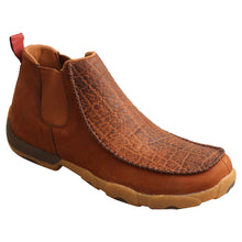 "Load image into Gallery viewer, Picture of front inside of Men's Twisted X 4"" Chelsea Driving Moc MDMG004"