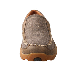 Picture of outside of Men's Twisted X ecoTWX Slip-On Driving Moc MDMS012