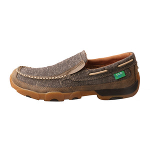 Picture of front of Men's Twisted X ecoTWX Slip-On Driving Moc MDMS012