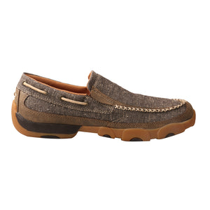 Picture of heel of Men's Twisted X ecoTWX Slip-On Driving Moc MDMS012