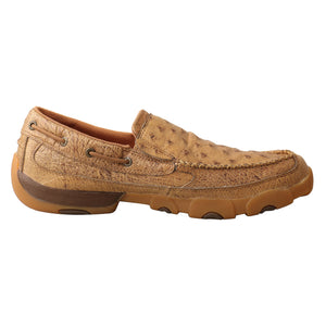 Picture of heel of Men's Twisted X Slip On Driving Moc MDMS019