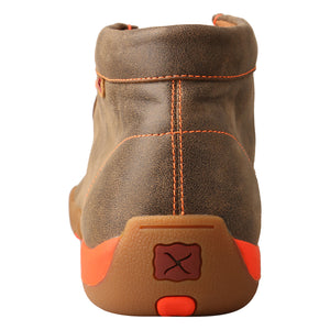 Picture of inside of Men's Twisted X Work Steel Toe Chukka Driving Moc MDMST04