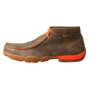 Picture of front of Men's Twisted X Work Steel Toe Chukka Driving Moc MDMST04