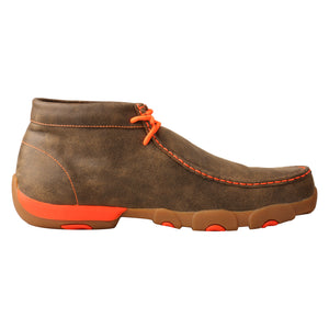 Picture of heel of Men's Twisted X Work Steel Toe Chukka Driving Moc MDMST04