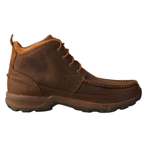Picture of heel of Men's Twisted X Hiker MHK0011