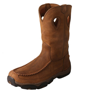 "Picture of front outside of Men's Twisted X 11"" Pull-On Hiker Boot - WP MHKBW01"