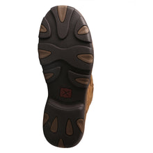 "Load image into Gallery viewer, Picture of sole of Men's Twisted X 11"" Pull-On Hiker Boot - WP MHKBW01"